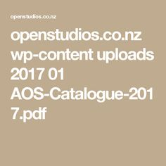 openstudios.co.nz wp-content uploads 2017 01 AOS-Catalogue-2017.pdf