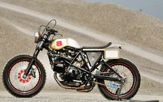 RocketGarage Cafe Racer: TL 1000 Flat Track