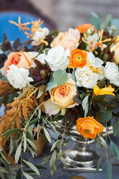 This Autumn Wedding Inspiration from A Family Affair and Justina Bilodeau features charming equestrian details. Wedding Decorations, Table Decorations, Orange Wedding, Family Affair, Minka, Autumn Wedding, Equestrian, Floral Design, Floral Wreath