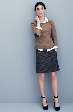 Chic Professional Woman Work Outfit. For work