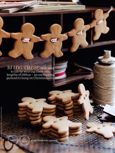 Gingerbread men #Donnahay Dec/Jan 2014