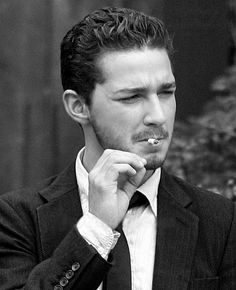 good looking men and tobacco products, gets me every time.