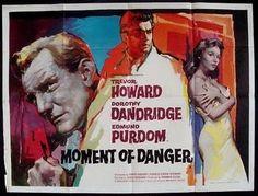 """Moment of Danger"" aka Malaga staring Dorothy Dandridge and Trevor Howard | Idia'Dega Eco-Fashion"