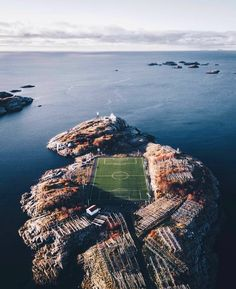 Henningsvaer, Norway Football Stadiums, Football Pitch, Soccer Stadium, Beautiful Norway, Lofoten, Travel Goals, Places To Travel, Travel Destinations, Places To Visit