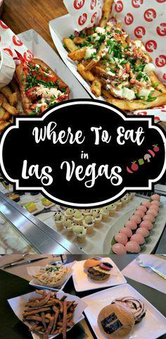 Where to Eat Las Vegas
