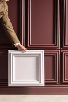Heritage New Classics Interior Walls, Home Interior Design, Wooden Panelling, Wall Panel Design, Orac Decor, Neoclassical Interior, Wall Molding, Moulding, Classic Interior