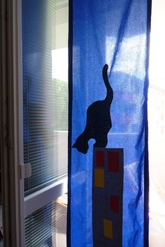 The Black Cat narrow curtain panel for kids by dgmart on Etsy Home Curtains, Kids Curtains, Panel Curtains, Selling Handmade Items, Handmade Shop, Handmade Crafts, Creativity, Challenge, Kids Rugs