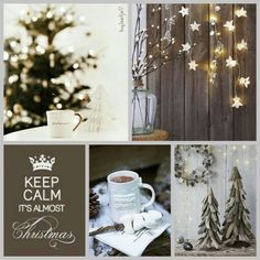 Keep calm, it's almost Christmas. #moodboard #mosaic #collage #inspirationboard #byJeetje♡