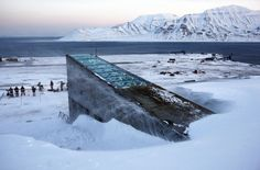 """The Svalbard Global Seed Vault was inaugurated in 2008. The ""doomsday vault"" lies inside an Arctic mountain in the remote Norwegian archipelago of Svalbard. For the first time, scientists are taking some seeds out."""