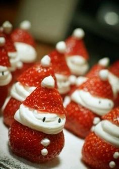 Strawberry santa :)