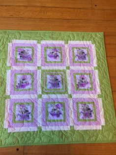 Baby Kitten Quilt by NonnaQuilts on Etsy