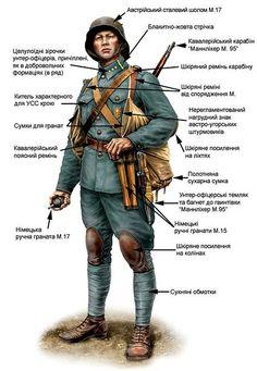 Десятник «пробоєвого відділу» УСС 1917—1918 рр.