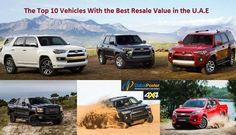 From [Chevy to Jeep Wrangler] the Best resale value SUV cars list Dubai Market, Dubai Cars, Suv Cars, Jeep Wrangler, Chevy, Good Things, Vehicles, Jeep Wranglers, Vehicle