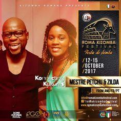 Mestre Petchu & Zilda show in Roma Kizomba Festival 2017