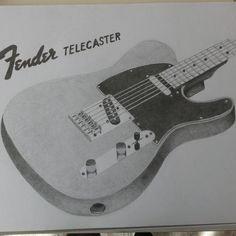 Fender Telecaster #art #fender