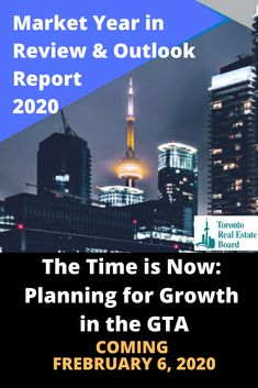 Market Year in Review & Outlook Report 2020 will be released by TREB on Feb. 6th Featuring The Time is Now:  Planning for Growth in the GTA Grab your copy once it Drops? Email me:  info@VeronicaKey.com Luxury Real Estate Agent, Top Agents, The Time Is Now, Home Free, Gta, Toronto, Marketing, How To Plan