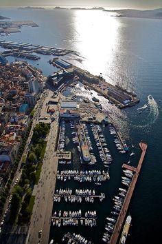 Puerto de Vigo-Galicia