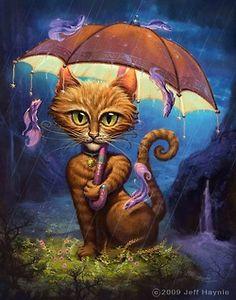 Jeff Haynie #Surreal #Cat