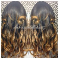 Ombre Famoushair installed by Diamond Dolls Beauty