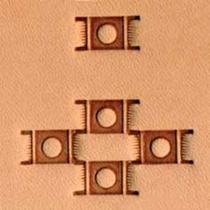 Craftool Tandy Craft 6508-00 Decorate Stamping G508 Geometric Leather Stamp