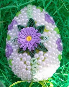 QUILLING ~ Easter egg | Eggs...who