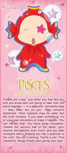 PISCES WEEKLY HOROSCOPE 2/17/14 - 2/23/14 astrology zodiac pisces horoscopes horoscope weekly horoscope astrological forecast horoscope signs predictions