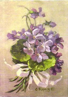 Violets Christie Repassy