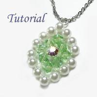 Jewelry: Beaded Leaf Pendant Tutorial