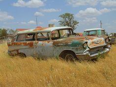 57 Chevy Nomad wagon