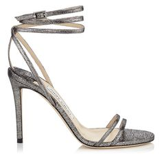 TIZZY 100: Jimmy Choo love your shoes but would like it better if there were no ankle straps.  So the shoes would be easy to get on & off.