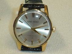 Seiko 稀少 キングセイコーの1stモデル 15034KSアンティーク 時計 Watch Antique ¥115000yen 〆05月29日