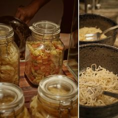 Pasta and noodle selections