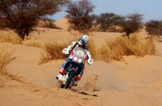 Gilles Lalay vincitore #Dakar 1989.