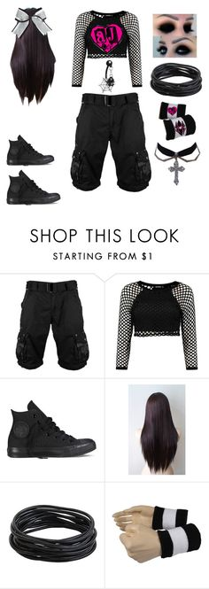 """""""Untitled #219"""" by lattacamp ❤ liked on Polyvore featuring Converse and Chassè"""