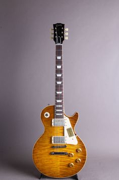 "Historic Collection 1959 Les Paul Standard Reissue ""Hand Selected""Heavily Aged Primary Burst"