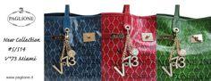 New Collection V°73 #SS14 Miami  Shop Online http://goo.gl/xHckBV #Bags #V73 #Borse #Shopping #Miami #Paglione