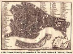 Map of Venice, 1800, J. Stockdale
