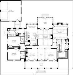 house plan 4766 00075 ranch plan 2 757 square feet 4 bedrooms 3
