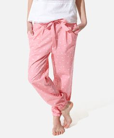 Mini heart print pants, null€ - null - Find more trends in women fashion at Oysho . Cute Sleepwear, Sleepwear & Loungewear, Nightwear, Mini Heart, Heart Print, Printed Pants, Summer Sale, Pyjamas, Spring Summer Fashion
