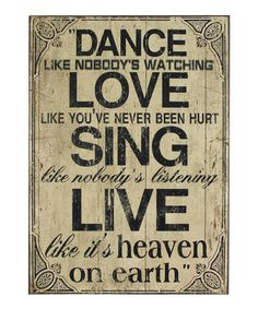 'Heaven on Earth' Wall Plaque by The Import Collection on zulily blow-out sale: home