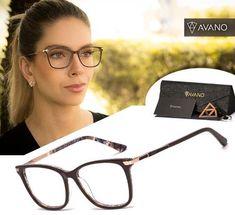 31130238b011d Óculos gatinho · Armação De Grau Feminino Estilo Gatinho Acetato Com Brinde  - R  100