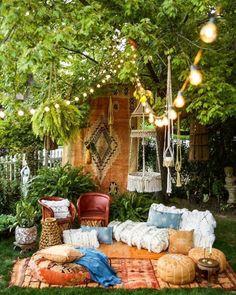 お庭ピクニックをもっと楽しく☆ガーデンインテリアのポイント&おしゃれな実例集 - Yahoo! BEAUTY