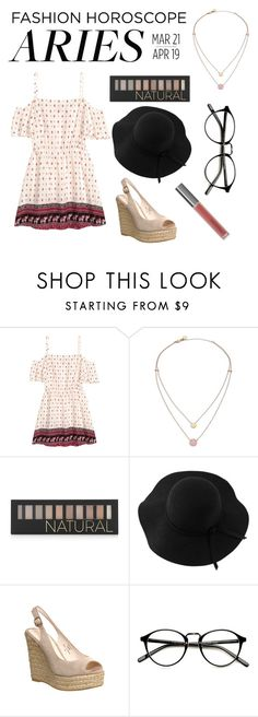 """""""Aries Horoscope"""" by zagl ❤ liked on Polyvore featuring H&M, Michael Kors, Forever 21, Sans Souci, Office, Perricone MD, fashionhoroscope and stylehoroscope"""