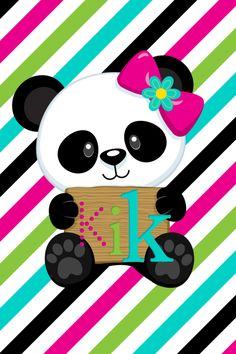 Kawaii Cute Wallpapers, Cute Panda Wallpaper, Panda Wallpapers, Wallpaper Iphone Cute, Panda Day, Panda Love, Baby Disney Characters, Cute Characters, Kirigami