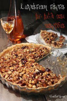 Συνταγή: Χωριάτικη τάρτα με μέλι και καρύδια ⋆ CookEatUp Cupcake Cakes, Cupcakes, Easy Sweets, Best Pie, Christmas Sweets, Love Is Sweet, Cakes And More, Oven, Deserts