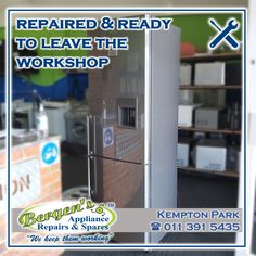 We quoted. We repaired. Now we are ready to delivery this Samsung Refrigerator. Good job! We also recycle your unwanted appliances free of charge. #wekeepthemworking #bergensappliances #appliancerepair #appliancepart #wefixappliances #essentialservice #bewisesantize #covid_19 #repairtech #wefixit #2020vision #quote #southafrica #inthekitchen #washingmachine #tumbledryer #microwave #dishwasher #vacuum #stove #oven #refridgerator Appliance Repair, Appliance Parts, Bergen, Creating Communities, Domestic Appliances, Stove Oven, This Is Us Quotes, Home Automation, Solar Energy