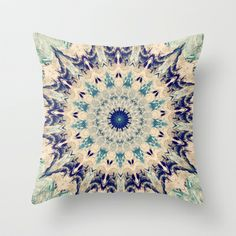 Oceanic  Throw Pillow by Abstracts By Josrick - $20.00