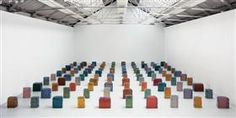 Untitled (One Hundred Spaces) - Rachel Whiteread