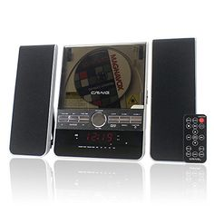 CHT910 Digital FM Radio with Aux In Craig Tower Speaker Docking System for iPod iPhone iPad Black
