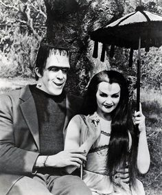 Herman and Lily Munster.  I used to love this show when I was a kid.